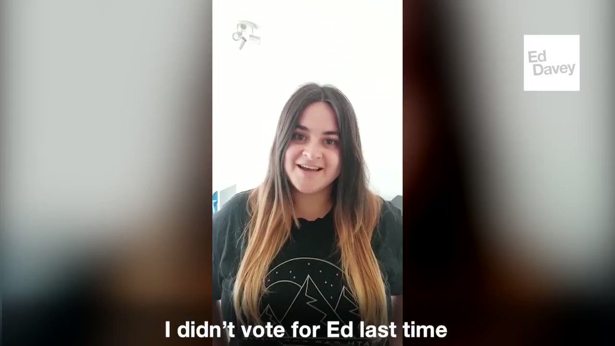 Lots of Jos supporters from last time are giving me their vote this year. Im glad that @emilytesterld is one of them. Join her: #VoteEd today