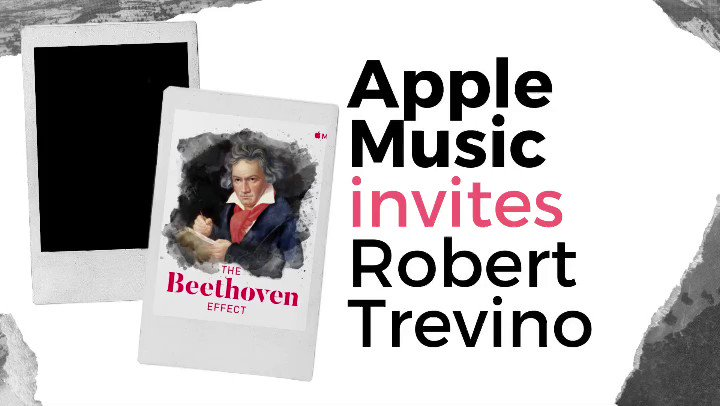 🎉 @maestrotrevino is guest curator for the new @AppleMusic #thebeethoveneffect playlist!  Visit #AppleMusic's Beethoven 2020 Room to listen to Trevino's chosen tracks 💭  Full interview about his new Beethoven Symphonies release on @OndineRecords here 🎥
