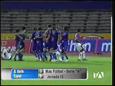 ¡Despertaban ilusiones! 😉  #CampeonatoEcuatoriano 2008 - contundente 3-0 a #ESPOLI ⚽️  Recuerdos azulgranas 💙❤️ con #SDQuitoProtegido  Fuente: @teleamazonasec  📱https://t.co/1HIwi0gxWN 🔵 #SDQuitoProtegido 🔴 https://t.co/M5A4CSWUT8