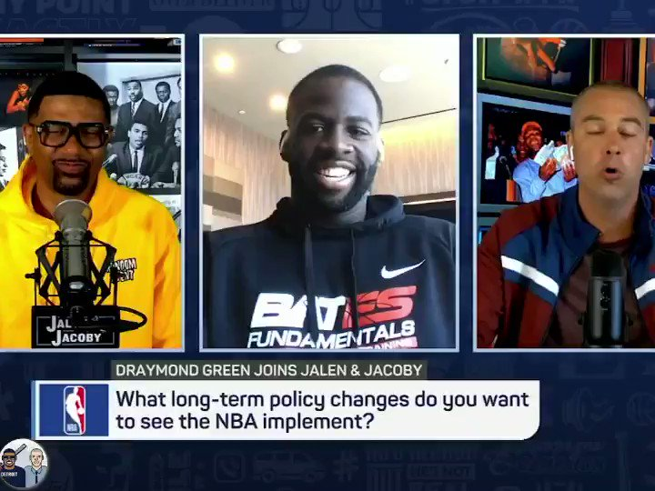@Money23Green gives his title favorite 🏆what do you think? #gtgtpwtw @JalenRose @djacoby
