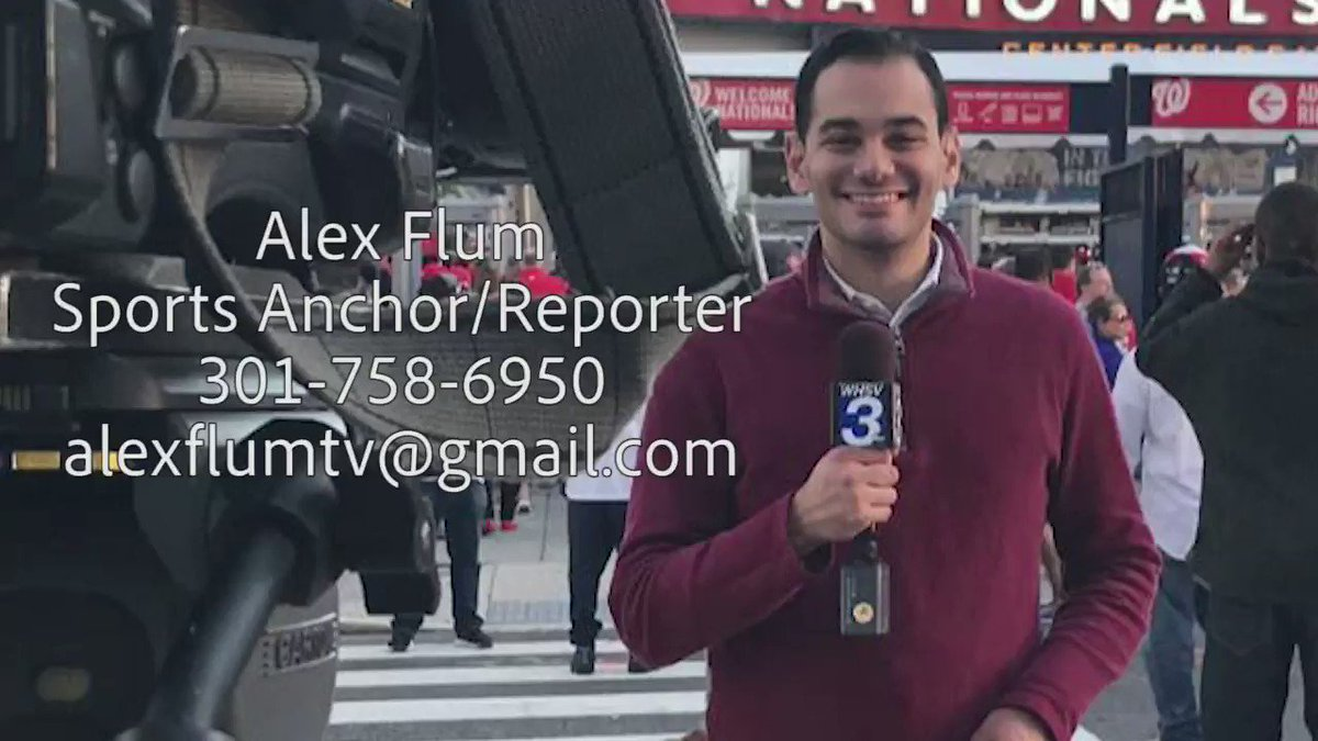 Well I am officially a free agent sports anchor/MMJ! I am excited for my next opportunity and am ready to keep learning and improving. Please take a look, I would appreciate any advice and support! You can view my full sports reel with stories here: vimeo.com/379209866