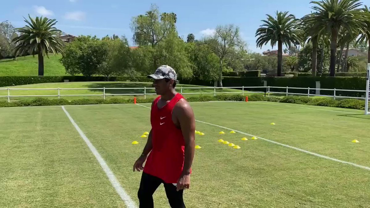 """READYYY!!! Can't wait for the Season!!! Let's Go! #TrainingCampAtHome Fired up to be the Chief Football Advisor & Partner with these """"dummies!"""" Haha 😂 @MVPDummy 🏈🏈🏈"""
