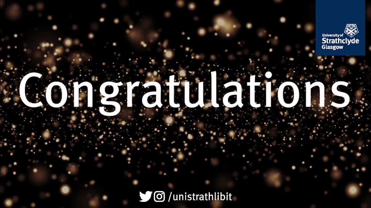 Our warmest congratulations to everyone who's received their degree results over the last few days. Under normal circumstances we'd set the screens in the Library to sparkle in your honour. For now please accept this Twitter Glitter instead! 🎉 https://t.co/TP4hosIZ1k