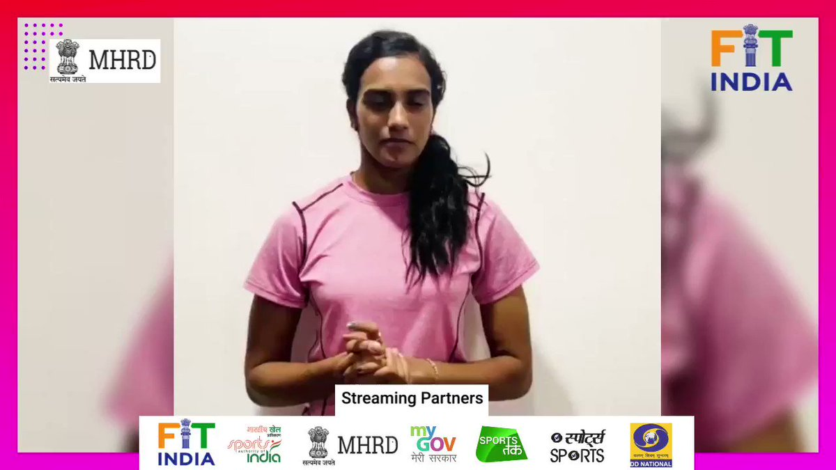 Badminton superstar @Pvsindhu1 will be joining the #FitIndiaTalks series on 3rd July at 5 pm! You can ask her questions using #FitIndiaTalks and dont forget to catch her live on @FitIndiaOffs YouTube channel ➡️ bit.ly/2yVBUSa #FitIndiaMovement @BAI_Media @PBLIndiaLive
