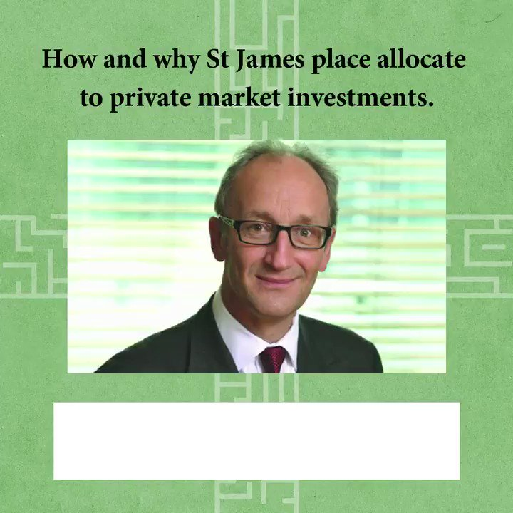 Looking forward to releasing a new and expansive interview with Chris Ralph,  Chief Global Strategist of @sjpwealth on Thursday this week.  Leave your comments on what you think of their strategy in private market investments?  #finance #business https://t.co/KJ5pVMajsN