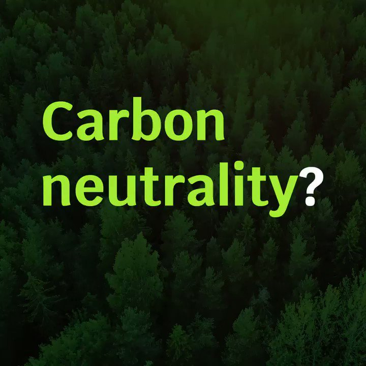 Image for the Tweet beginning: #Forest for carbon neutrality🌳 ✅Europe's 2050