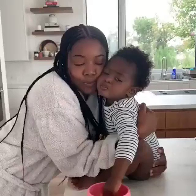 Okay but baby Kaavia is everything! ❤️ || 🎥 @itsgabrielleu