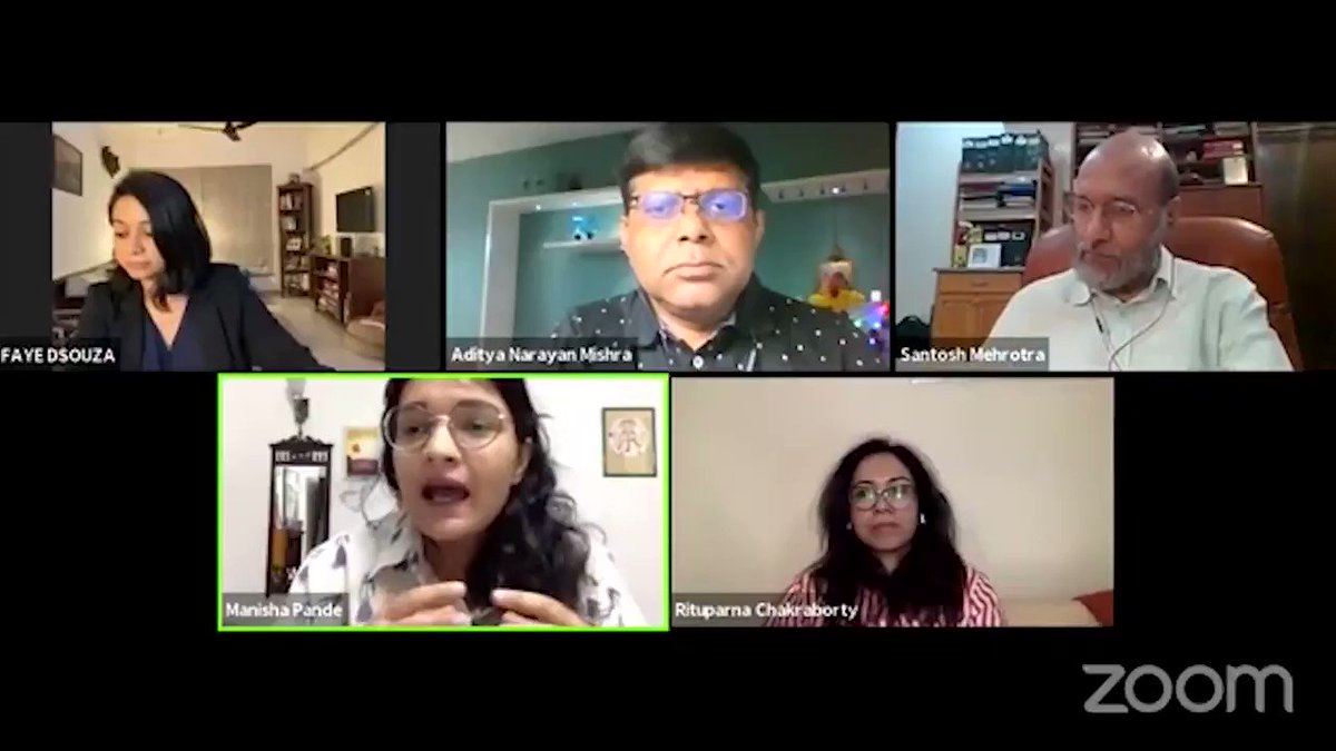 Job Cuts Across Sectors @MnshaP - 'Media industry is notoriously opaque about the kind of layoffs inside the newsrooms. There is no transparency or open communication. That has brought the morale down for journalists' Watch the full show youtube.com/watch?v=Zvyvky…