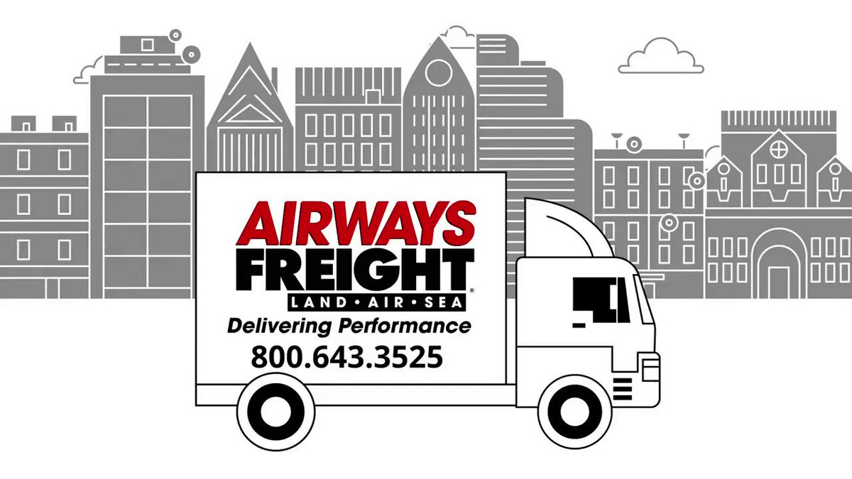 Image for the Tweet beginning: Airways Freight offers 24/7 365