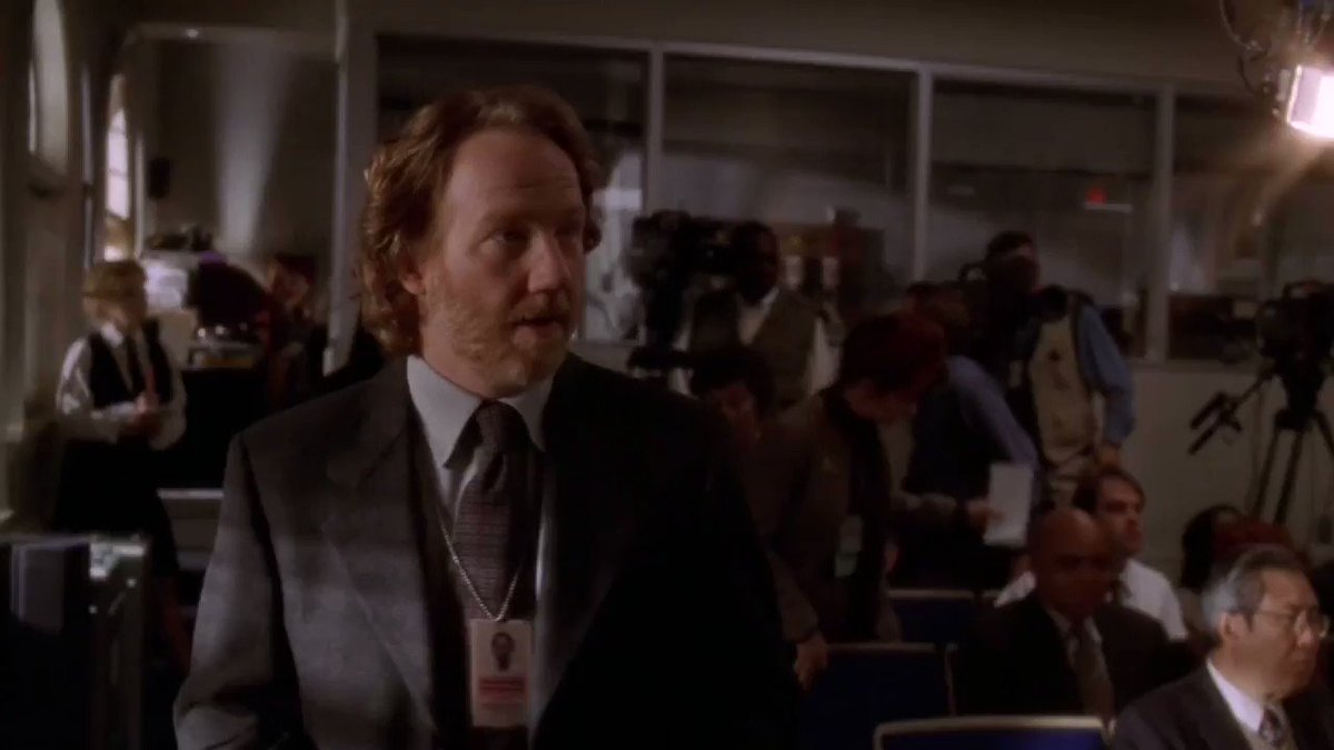 west wing characters being a danger to themselves and others