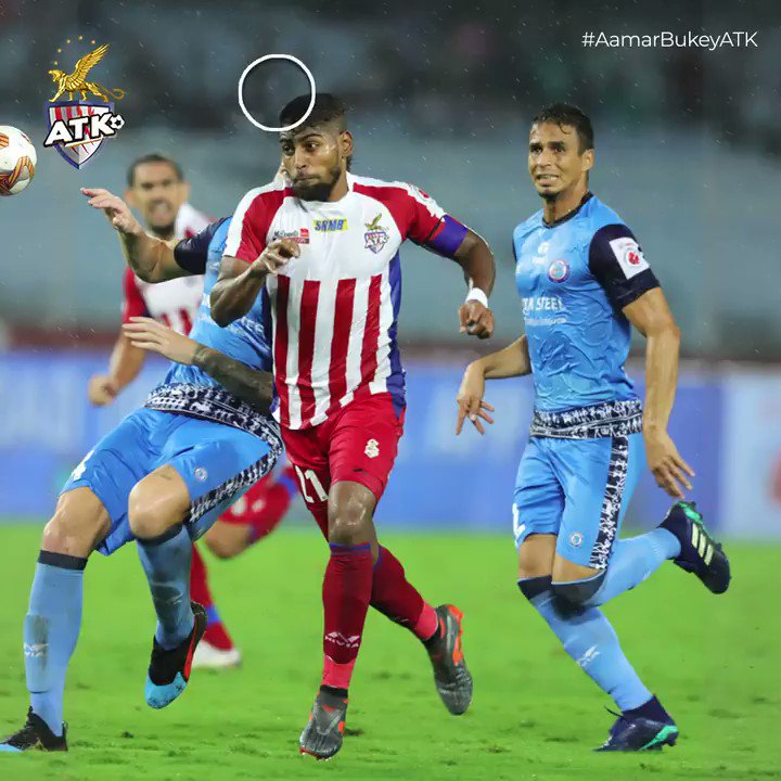 Can you time your screenshot as well as @RoyKrishna21 timed this header? 😏 #ATK #AamarBukeyATK #BanglaBrigade