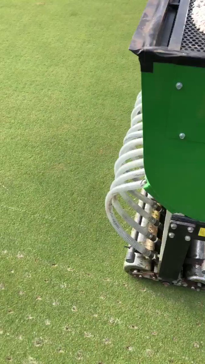Image for the Tweet beginning: Injecting WET sand again today