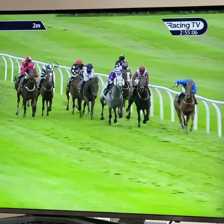 Well done to the team and Calevade who gets his first victory on turf @CatterickRaces under Harrison Shaw for his host of owners @Shapiro07 @DJClifford11 Et al!! 👏🥂