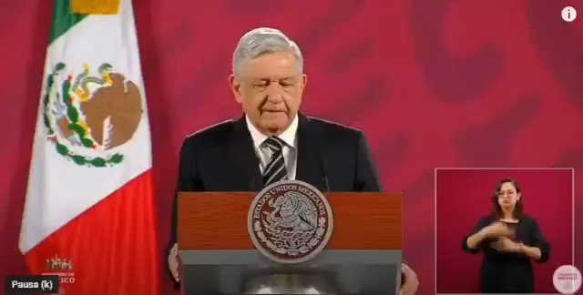 Image for the Tweet beginning: 🔴 El gobierno federal seguirá