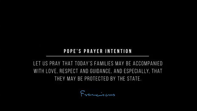 The conditions and rhythm of life today can present great dangers to families. @Pontifex invites us to accompany families with love, respect, and guidance, and asks civil authorities to protect them. #AccompanyWithLove #ThePopeVideo @LaityFamilyLife
