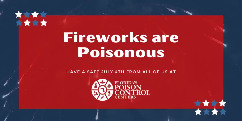 Another reminder - watch your kids and pets around fireworks. Hope everyone has a safe and happy 4th!