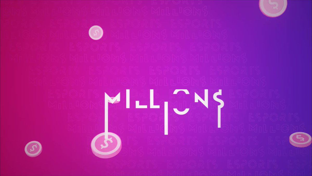 Image for the Tweet beginning: Esports Millions is Now Live! ➡️