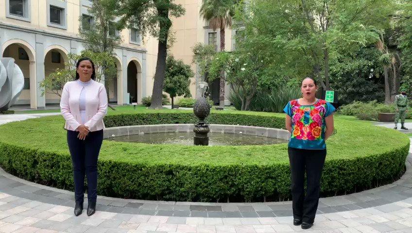 La secretaria @Mary_Luisa_AG y la subsecretaria @A_MontielR informarán sobre el Programa para el #Bienestar de #AdultosMayores en la #ConferenciaBienestar. ¡Comenzamos!