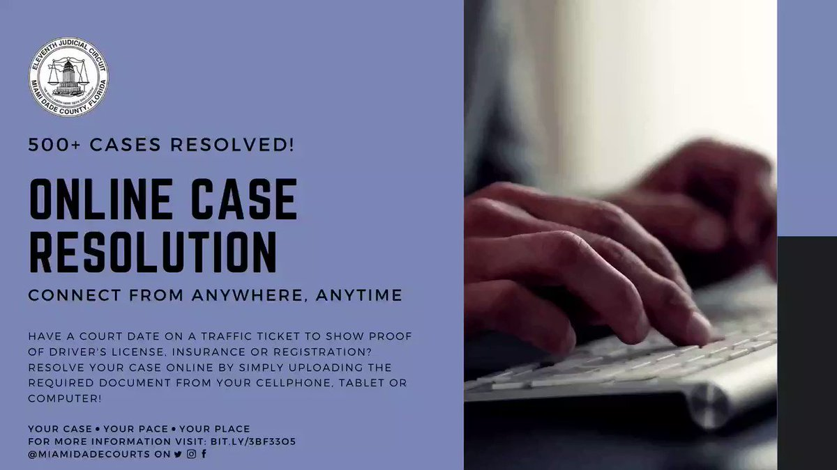 Image for the Tweet beginning: 500+ cases resolved already: Online