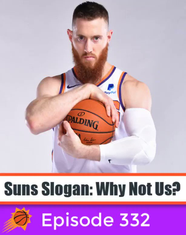 Aron Baynes is ready for the Suns to shock the world! #SOGO @aronbaynes
