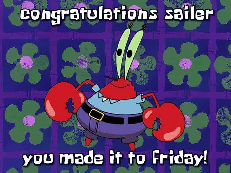 Congrats Sailer, You Made It To Friday! (@FridaySailer) on Twitter photo 2020-07-03 10:27:41