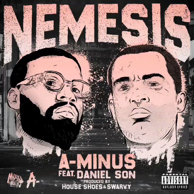 NEW Music A-Minus Nemesis ft. @DISSBBM prod. by @houseshoes & @Swrvy #detroithiphop @MFM_313 36Os coming September 2020 music.apple.com/us/album/nemes…