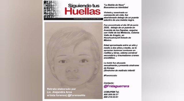 Image for the Tweet beginning: 🔴 #LaBebaDeAragon fue hallada en