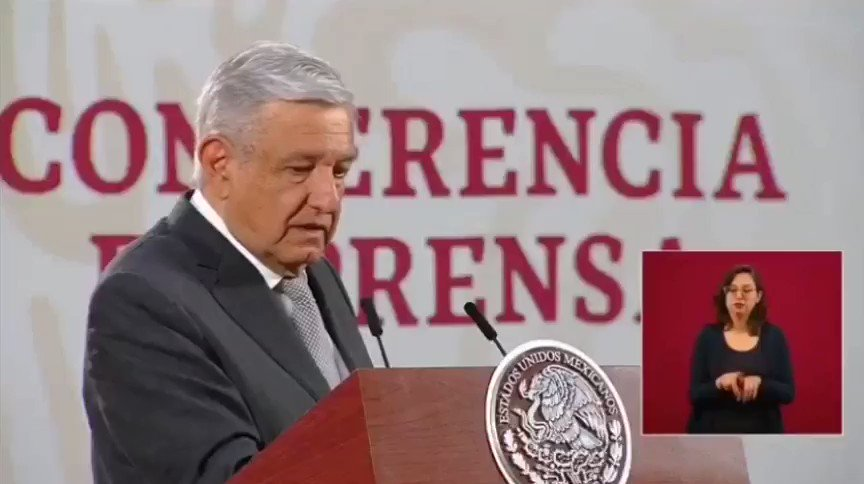 Image for the Tweet beginning: 🔴 Ordena @lopezobrador_ apoyo del