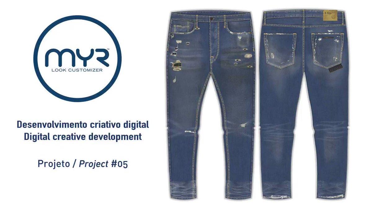 MYR LOOK CUSTOMIZER SUL AMÉRICA   Creative Digital Process Preject_05  http://www.myr.eu.com  info@myr.eu.com See the full video at https://youtu.be/weIeSRiucpw @tecnidenim @paraguacujeanswear @lavanderiacristalrsl #desafio #projeto #estilo #moda #3D #coleção #inovação #arte #futuropic.twitter.com/f0Qfb451a0