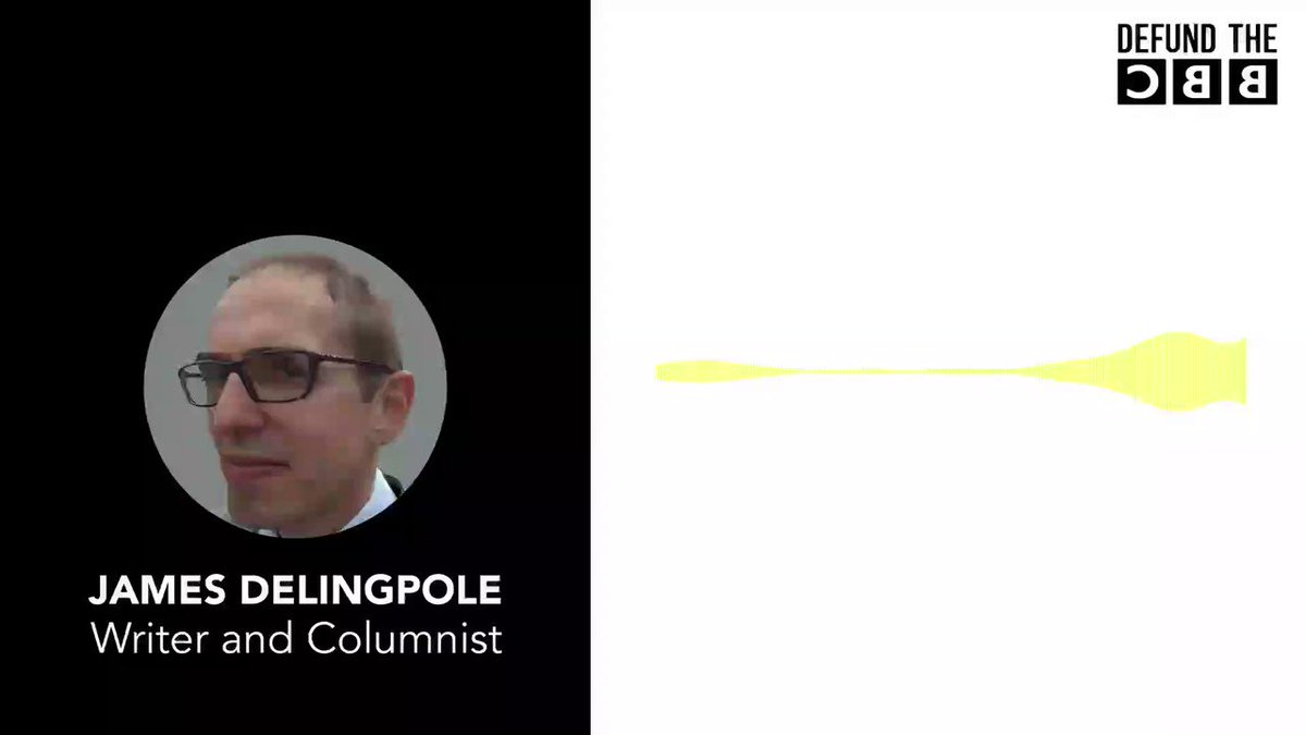 "🗣 ""The BBC is the propaganda arm of the deep state"" @JamesDelingpole told @calvinrobinson yesterday. Listen to full interview at: youtu.be/_3GKwF393XE Chip in to support #DefundTheBBC at: gofundme.com/Defund-the-BBC"