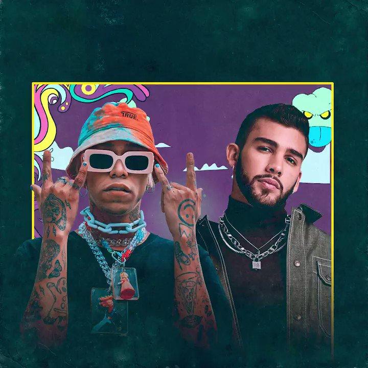 #LaPresión 🛸 ya está rompiendo en Baila Reggaetón, la playlist de @spotify @SpotifyLatino más importante del género, venimos de otro universo 🤮🔫🌈 open.spotify.com/user/spotify/p…