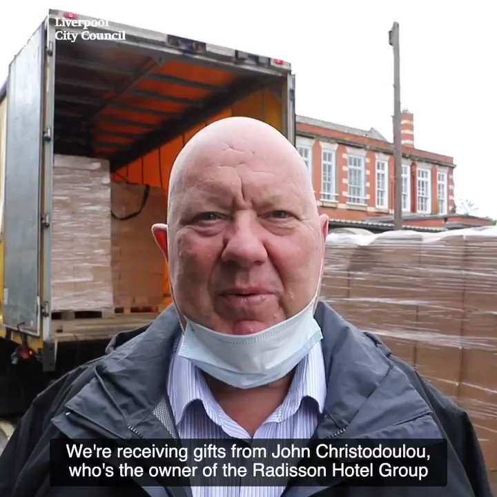 Its going to support people who are unfortunate enough to be homeless or rough sleeping. @mayor_anderson talks about the donation the Whitechapel Centre have received from John Christodoulou, owner of the Radisson Hotel Group. @YianisCharity @Radisson @WhitechapelLiv