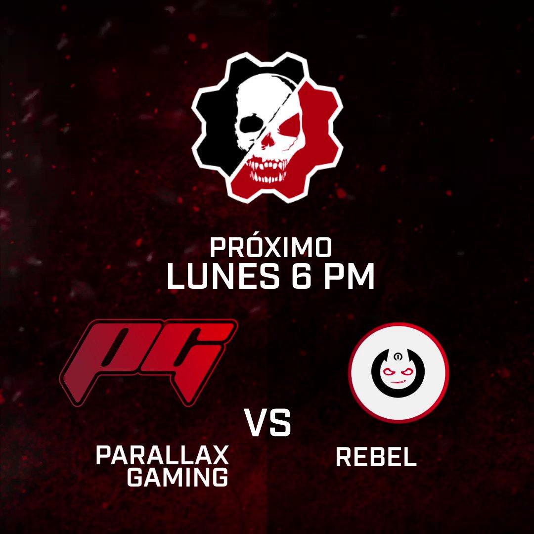 #Aztecaesports👾🎮🕹 ¡No te pierdas los encuentros de la Gears Pro League! Lunes 6:00pm por nuestros canales digitales. @Parallax_gg vs. @Rebel_GN @FireNIceEsports vs. @KnightsGG @XboxMexico @EsportsGears #GearsxAzteca #Q3 #Gears5