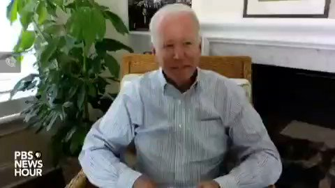 Biden exact quote: Good afternoon everyone, um uh I'm Joe Biden's husband. Joe Biden. Are you serious...