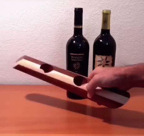 Wooden wine bottle holder   $11.5   http://ali.pub/4vptcq . #winetasting #romanticsong #decora #romanticsuspense #bottlespecials #romanticpoetry #tagify_app #decorate #bottleservice #winecountry #romantico #romanticshayari #decorationideas #dessert #winelovers #winerypic.twitter.com/qNYkcfmkek