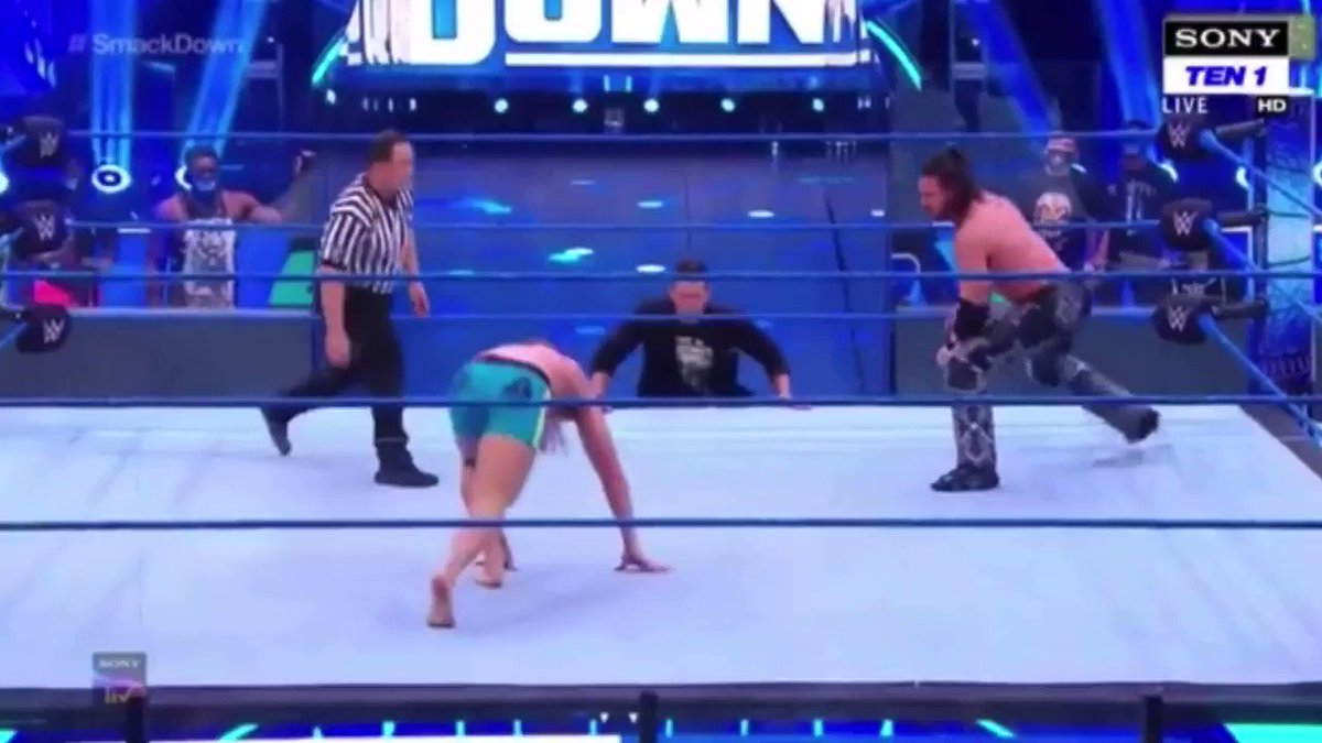 @ryansatin's photo on #SmackDown