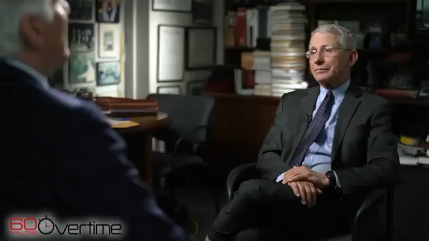 "Image for the Tweet beginning: @KrisAnneHall Dr. Anthony Fauci ""There's"