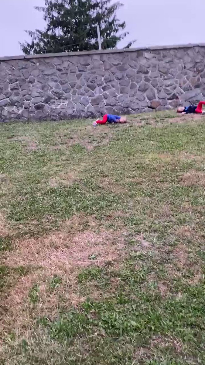 Who thought it was so difficult to just roll down hill! 😂