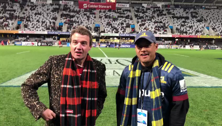 .@SIX60 in the house! #HIGvCRU