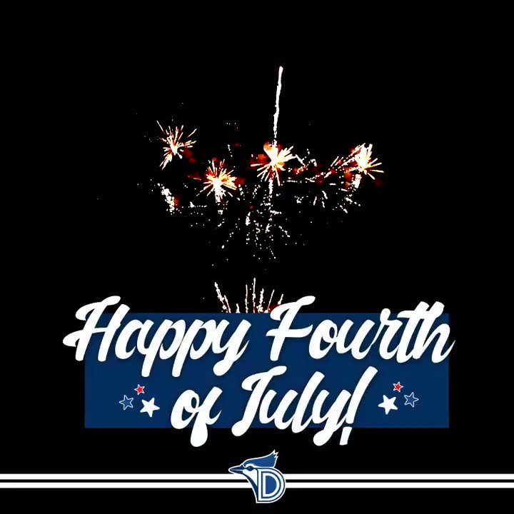 Have a safe and happy #FourthofJuly, Blue Jays fans! 🎆