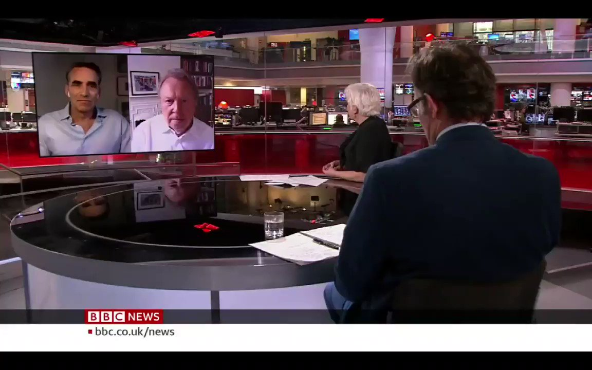 Jeffrey Kofman - Boris Johnson should be very grateful that Donald Trump is in office because if Trump werent, Johnson would be a candidate for the most incompetent leader in the western world.... #DatelineLondon