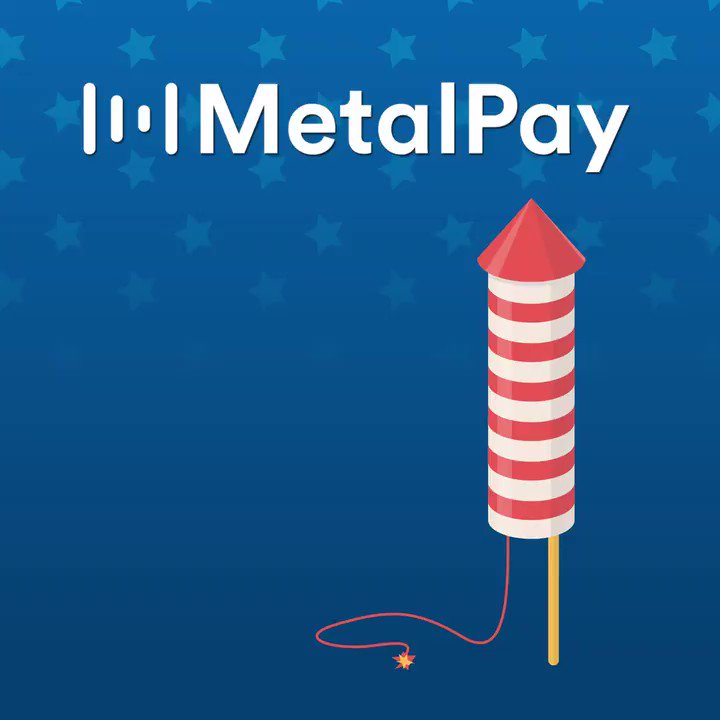 Image for the Tweet beginning: Declare your independence from fees!  Metal