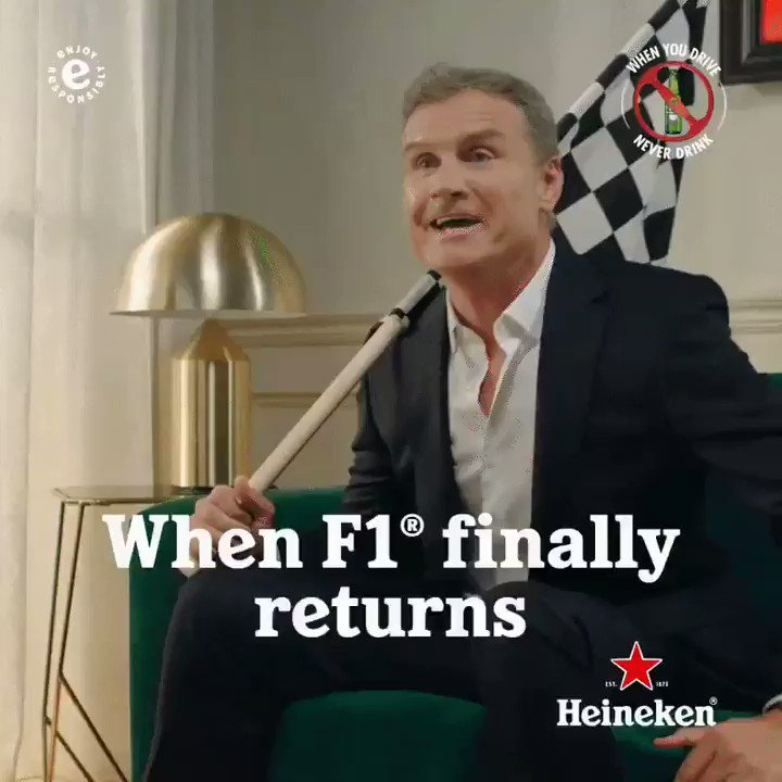 Image for the Tweet beginning: 📢 @F1 is back on