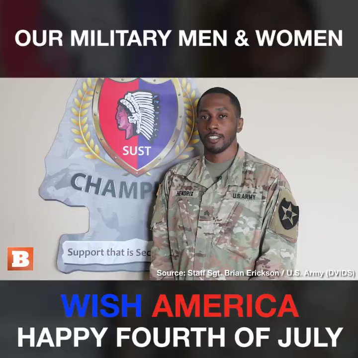 Happy Independence Day from those who serve!