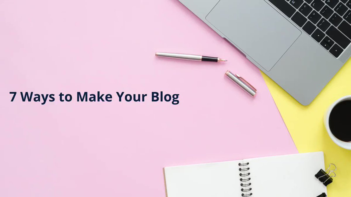 Image for the Tweet beginning: Making your blog design and