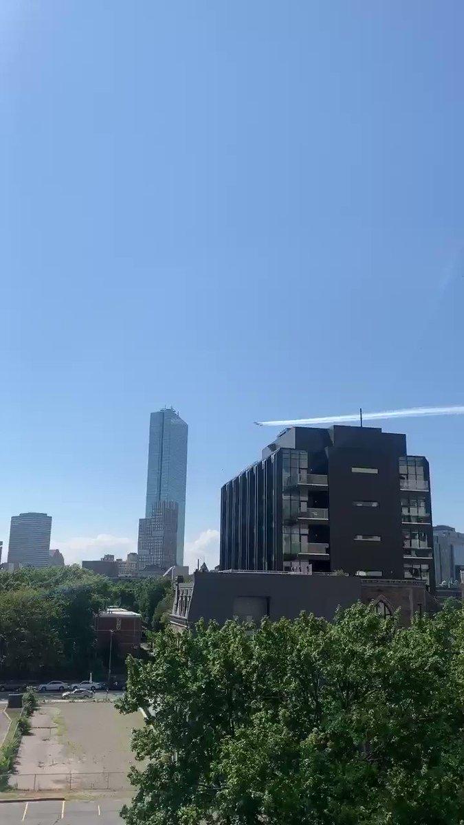 Flyover in Boston