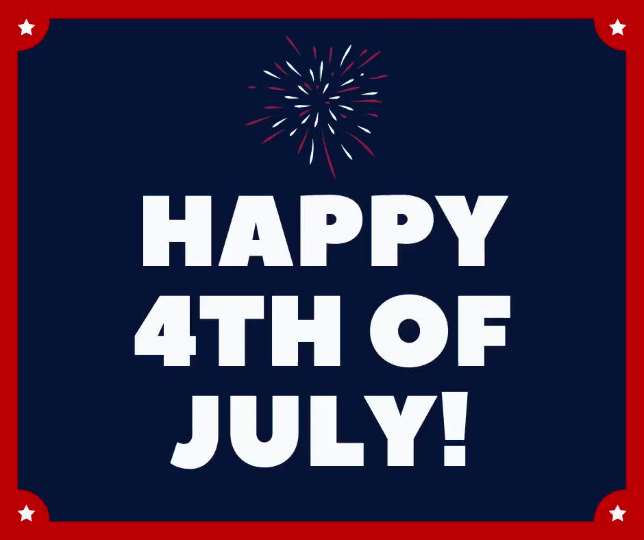 We know you may not be celebrating Independence Day like you normally would this year, but we hope you enjoy these fireworks! Happy 4th of July! https://t.co/xbJirprL7l