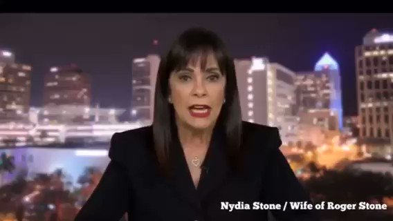 BREAKING: Roger Stone's wife releases message for President Trump to pardon or commute her husband who was convicted as part of the Mueller investigation