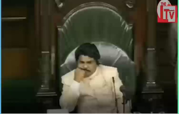 Vajpayee, when he was Prime Minister, speaking in Parliament about his relationship with Nehru.