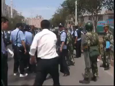 Urumchi massacre back in July 5th 2009 in East Turkistan can be genocide. Chinese forces targeted anyone who is Uyghur at that time. Thousands of young men and women are killed and many of them are the victims of enforced disappearance. https://t.co/HCxOR9jOZ2